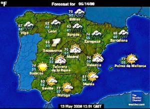 Wettervorhersage Mallorca