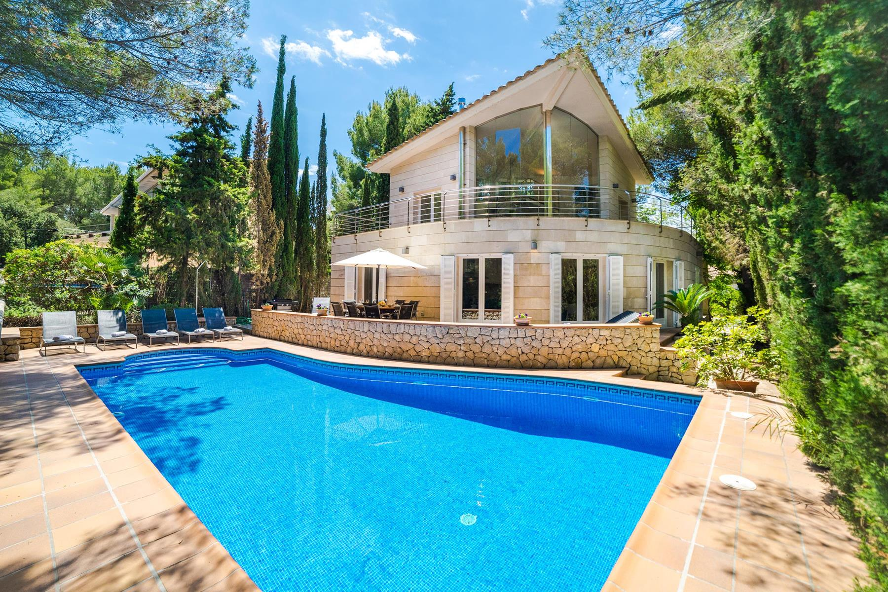 Dream House For 8 People With Swimming Pool, The Best Equipment For Guests  In The Most Exclusive Area Of Alcudia
