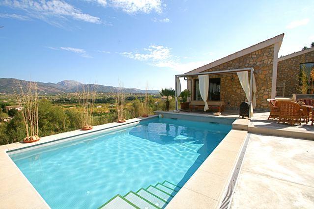 Marvelous Vermietung Von Fincas Mallorca Finca Bei Selva Privater Pool überdachte  Terrassenn Mallorcas Finca Mallorca Arta Ferienhaus