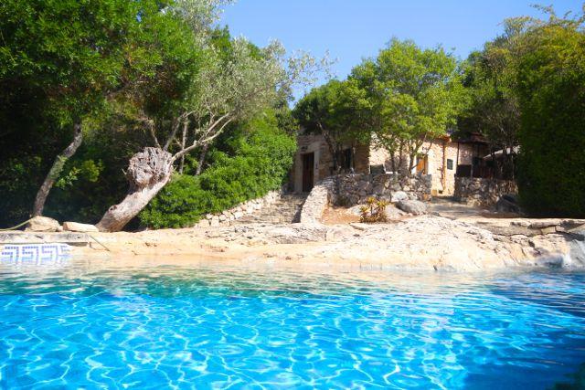 freistehende kleine günstige Finca für 2 bis 4 Urlauber und ein Baby, im Norden Mallorcas zum ...